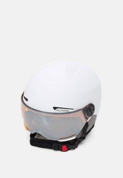 Alpina - ARBER VISOR UNISEX - Helm - white matt