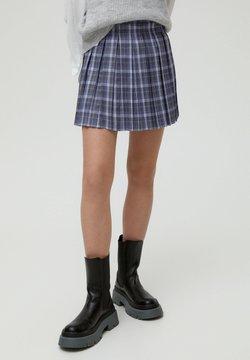 PULL&BEAR - MIT KELLERFALTEN - Spódnica trapezowa - dark grey