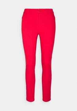 Vero Moda - VMHOTSEVEN ZIP PANTS - Jeans Skinny Fit - goji berry