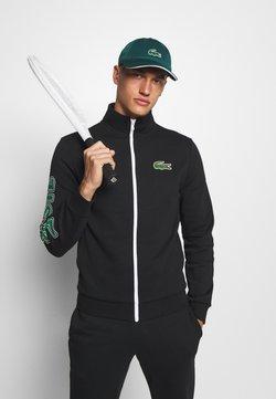 Lacoste Sport - TRACKSUIT - Survêtement - black/green/white