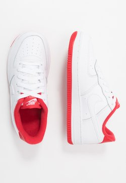 Nike Sportswear - FORCE  - Sneaker low - white/team red