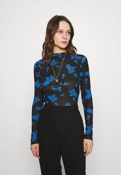 Lindex - LINN - Langarmshirt - blue