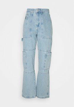The Ragged Priest - STRAIGHT LEG COMBAT - Jeans Straight Leg - blue