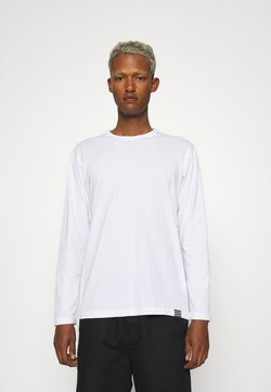 Mads Nørgaard - ORGANIC THOR TEE - Pitkähihainen paita - white