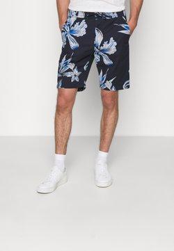 NN07 - SEB SHORTS  - Shorts - navy print