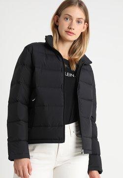 Calvin Klein Jeans - LIGHT SHORT PUFFER - Daunenjacke - black