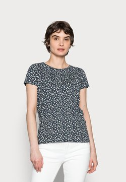 Springfield - ABULLONAD - T-Shirt print - medium blue