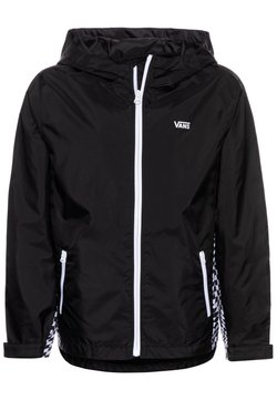 Vans - BY WARP CHECK WINDBREAKER BOYS - Overgangsjakker - black