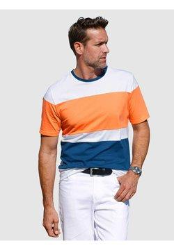 Roger Kent - T-Shirt print - orange,weiß