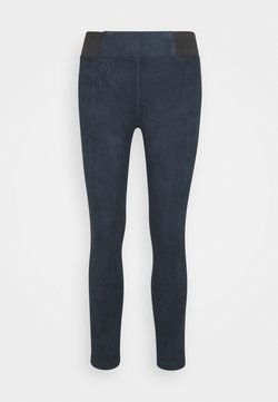 TOM TAILOR - TREGGING WITH ELASTIC TAPE - Leggings - Hosen - sky captain blue
