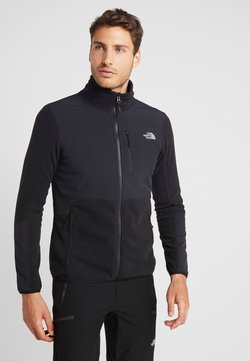 The North Face - GLACIER PRO FULL ZIP - Forro polar - black