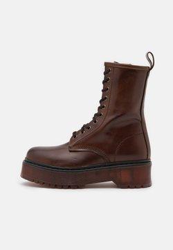 Jonak - ROSSO - Platform ankle boots - marron