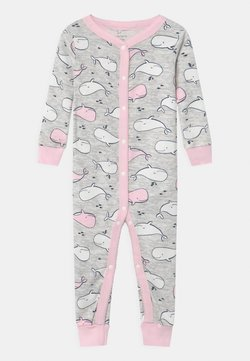 Carter's - WHALE SNAPS - Pyjama - white/light pink