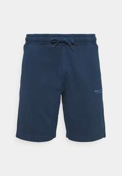 Marc O'Polo - WITH FRONT AND BACK POCKETS - Shorts - total eclipse