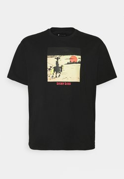 Only & Sons - ONSLUCKY LUKE LIFE REG TEE - T-shirt imprimé - black
