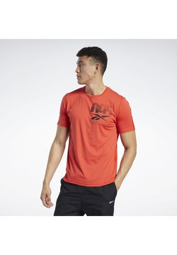Reebok - ACTIVCHILL GRAPHIC MOVE T-SHIRT - T-shirts print - insred