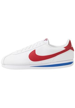 Nike Sportswear - CORTEZ BASIC - Matalavartiset tennarit - white/varsity red/varsity royal