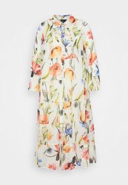 Zizzi - MILUNA DRESS  - Blusenkleid - snow white