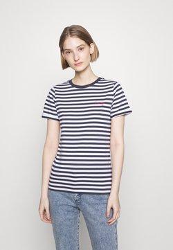 HUGO - THE SLIM TEE - T-Shirt print - open miscellaneous