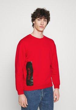 Dondup - FELPA GIROCOLLO - Sweatshirt - red