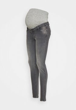MAMALICIOUS - MLSAVANNA - Jeans Slim Fit - medium grey denim