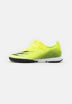 adidas Performance - X GHOSTED.3 TF - Astro turf trainers - solar yellow/core black/royal blue