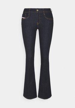 Diesel - D-EBBEY - Bootcut jeans - indigo
