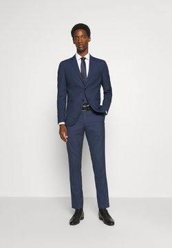 Selected Homme - SLHSLIM MAZELOGAN  - Anzug - dark blue