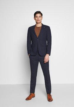 Tommy Hilfiger Tailored - FLEX MINI STRUCTURE SLIM  SUIT - Anzug - blue