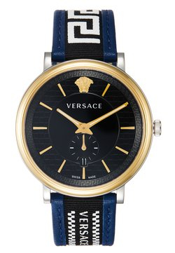 Versace Watches - CIRCLE GRECA EDITION - Montre - blue