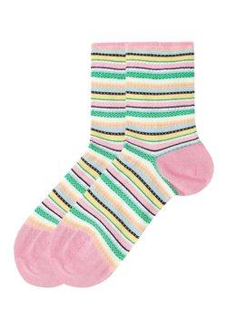 Tezenis - Socken - righe lavorate rosa