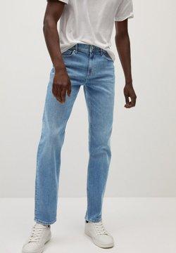 Mango - BOB7 - Straight leg jeans - mellemblå