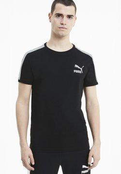 Puma - ICONIC SLIM - Funktionsshirt - puma black-puma white