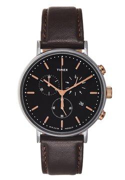 Timex - FAIRFIELD CHRONOGRAPH SUPERNOVA 41 mm - Montre à aiguilles - dark brown/black