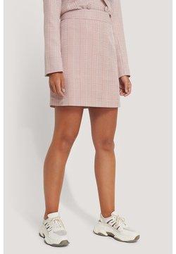 NA-KD - Jupe trapèze - pink/white
