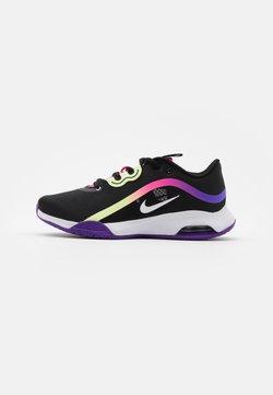 Nike Performance - AIR MAX VOLLEY - Zapatillas de tenis para todas las superficies - black/white/liquid lime/pink blast