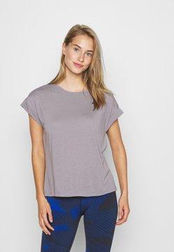 Reebok - SUPREMIUM DETAIL TEE - T-Shirt print - grey