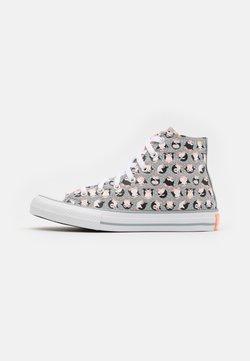 Converse - CHUCK TAYLOR ALL STAR PENGUIN  - Sneakers alte - ash stone/bright coral/white