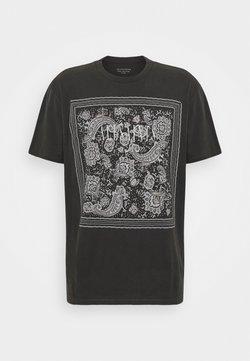 AllSaints - T-shirt imprimé - vintage black