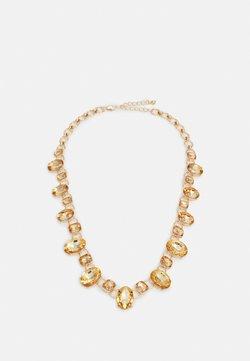 Pieces - PCREEM NECKLACE - Necklace - gold-coloured/burnt orche