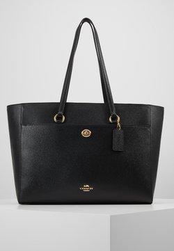 Coach - CROSSGRAIN FOLIO TOTE - Shopping bag - black
