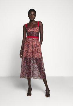 Allen Schwartz - EDEN BUSTIER DRESS IN PRINTED - Vestito elegante - red
