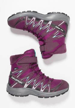 Salomon - XA PRO 3D WINTER TS CSWP - Snowboot/Winterstiefel - dark purple/potent purple/atlantis