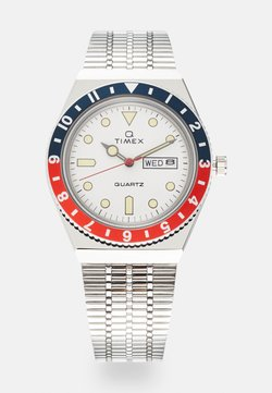 Timex - Q DIVER UNISEX - Uhr - silver-coloured/white