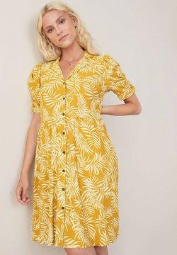 Next - Blusenkleid - yellow
