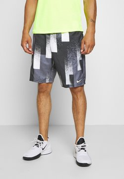 Nike Performance - DRY SHORT PRINT - Pantalón corto de deporte - black/white