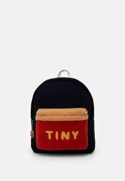 TINYCOTTONS - TINY BIG COLOR BLOCK BACKPACK - Reppu - navy