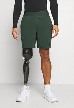 Nike Performance - SHORT YOGA - Pantalón corto de deporte - galactic jade/black