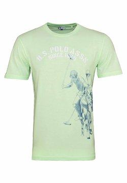 U.S. Polo Assn. - T-shirt con stampa - hellgrün