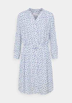 Selected Femme - SFDAMINA DRESS  - Blusenkleid - arctic ice